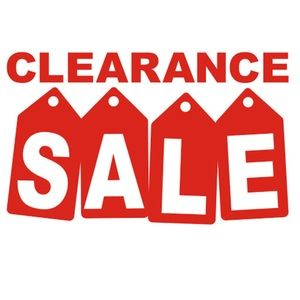 🛒CLEARANCE 3/$20  or 4/$25‼️